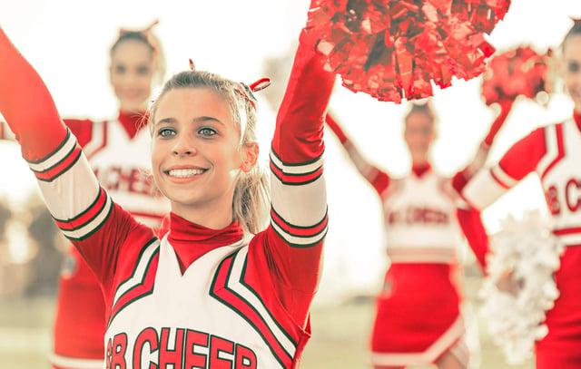 Cheerleader girl - komprimiert