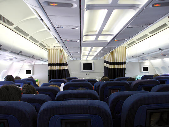 airplain interior